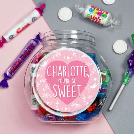 You're So Sweet, Sweet Jar (Personalised)